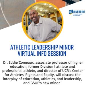 Athletic Leadership Minor with Associate Professor Eddie Comeaux