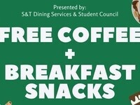 Free Breakfast & Coffee for Finals
