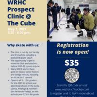 Los Angeles Kings High School Hockey League Clinic at The Cube