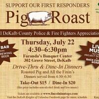 DeKalb County First Responder Appreciation Pig Roast