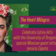 The Heart Milagro: Celebrate Latino Arts with the University of Oregon and special Mexican guest artist, Jessica Zapata