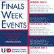 Finals Week Events