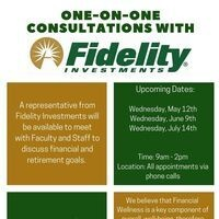 Fidelity One-on-One Consultations