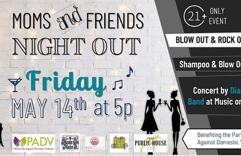 Moms night out flyer