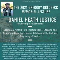 The Greg Bredbeck Memorial Lecture: Daniel Heath Justice (The University of British Columbia)