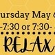 Bac Weekly Event: Finals Week Come Relax With Us!