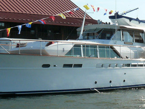 Classic Chris-Craft Yacht