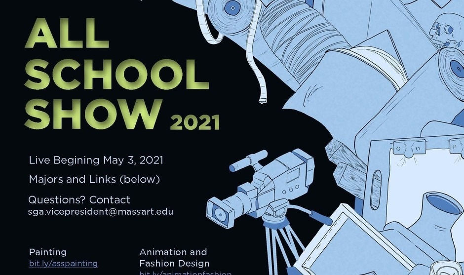 All School Show 2021 Poster