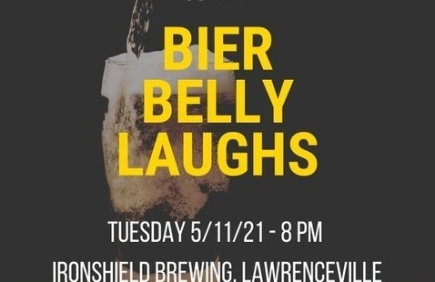 Bier Belly Laughs at Ironshield Brewing
