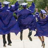Leaping graduates