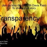 Transparency: Art exhibit
