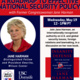 A Roadmap to Effective National Security Policy with Former Congresswoman Jane Harman