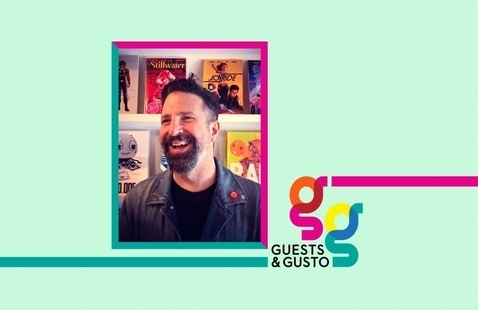 Start your creator-owned endeavor with award-winning cartoonist Ramón Pérez on 'Guests and Gusto'