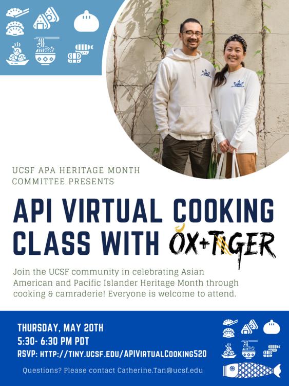 May 20, 2021: API Virtual Cooking Session: API Heritage Month 2021