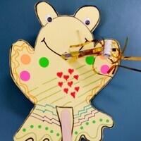 Take & Make: Read It! Read It! Frog Puppet