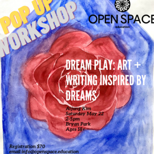 Aijung Kim's DREAM-PLAY Workshop at Bryan Park 5/22