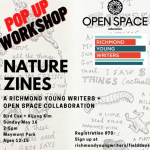 NATURE ZINES Workshop at Maymont 05/16