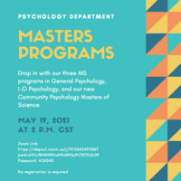 Highlighting MS Programs in Psychology at DePaul University