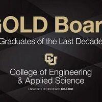 CU Engineering - GOLD Board Recent Alumni Sessions: Advanced Degrees