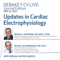 CV Live: Journal Edition - Electrophysiology