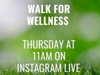 Wellness Walk: with the Counseling Center