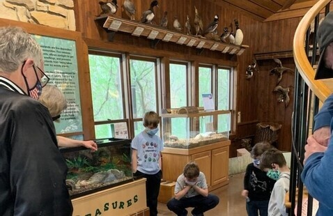 inside the nature center