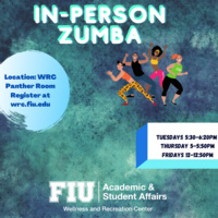 In-Person Zumba