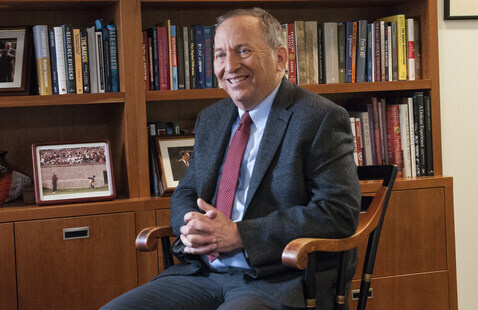 Larry Summers, Charles W. Eliot Professor and President Emeritus at Harvard @ Southern Glazer's Distinguished Leader Series