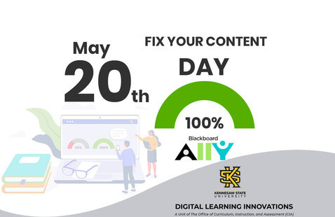 Fix your content day event, May 20th.