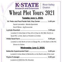 2021 RVD Wheat Plot Flyer