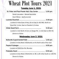2021 RVD Wheat Plot Flyer