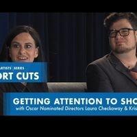 Oscar Shorts Q&A with Kristof Deak & Laura Checkoway DePaul Visiting Artists Series