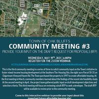 Oak Bluffs Community Meeting: Mixed Income Housing