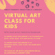Virtual Children's Art Class