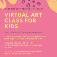 Virtual Children's Art Class