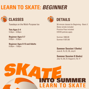 Beginner Learn to Skate | Summer I
