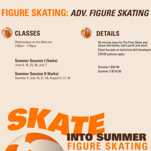 Advanced Figure Skating | Summer I