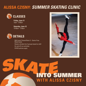 Alissa Czisny Summer Skating Clinic