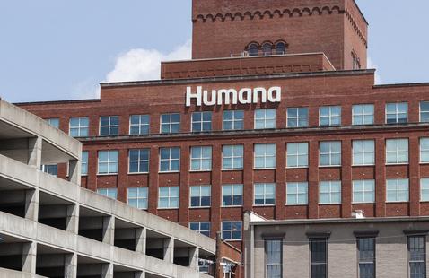 Humana HQ brick building
