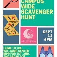 WHOA Presents.. Campus Wide Scavenger Hunt!