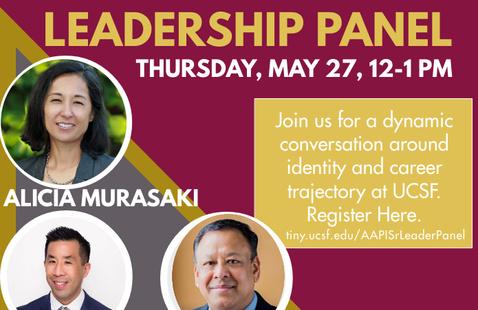 API Senior Leadership Panel: Asian Pacific Island (API) Heritage Month 2021