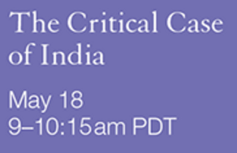 IGHS COVID Series: The Critical Case of India