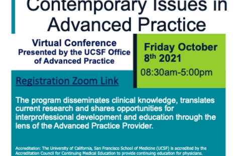 Contemporary Issues in Advanced Practice Conference