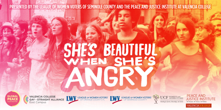 Film Screening and Panel Discussion: She's Beautiful When She's Angry