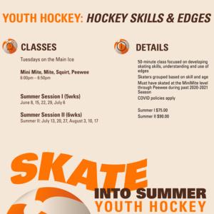 Youth Hockey Skills & Edge | Summer II
