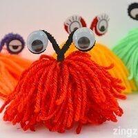 Take & Make: Yarn Monsters