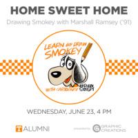 Home Sweet Home: Drawing Smokey with Marshall Ramsey ('91)