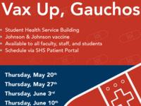 Johnson & Johnson (Janssen) COVID-19 Vaccination Clinics on Campus