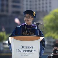 Senior Scholars Hosts President Dan Lugo