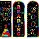 3 examples of scratch art bookmarks